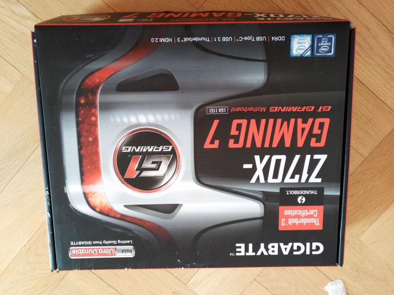 Материнская плата Gigabyte GA-Z170X-Gaming 7 (s1151, Intel Z170)