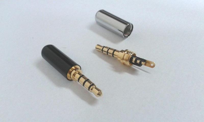 Качественный Штекер 3-4 pin 3.5 мм папа - Фото 3