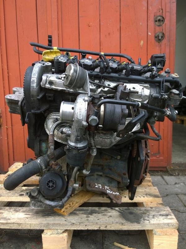 Двигатель Fiat Doblo Opel Combo D 1.4турбо 1.4 T-Jet 198A4000