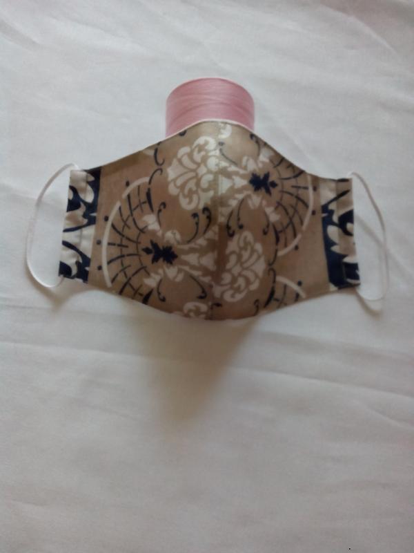 Многоразовые маски ручной работы