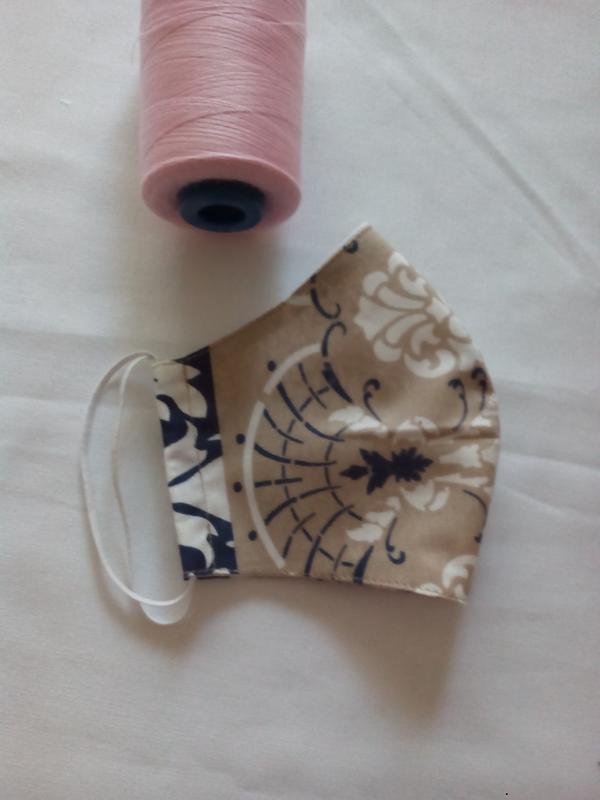 Многоразовые маски ручной работы - Фото 2