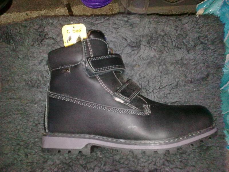 Ботинки зимние мальчик 32-36 размер