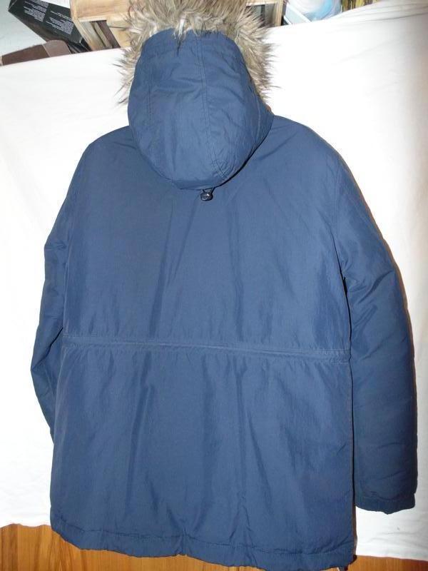 Куртка пуховик парка натуральный пух jack wills оригинал размер l - Фото 4