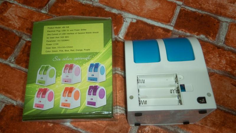 Мини-Кондиционер Вентилятор Охладитель Воздуха  Mini Fan UKC HB-1 - Фото 5