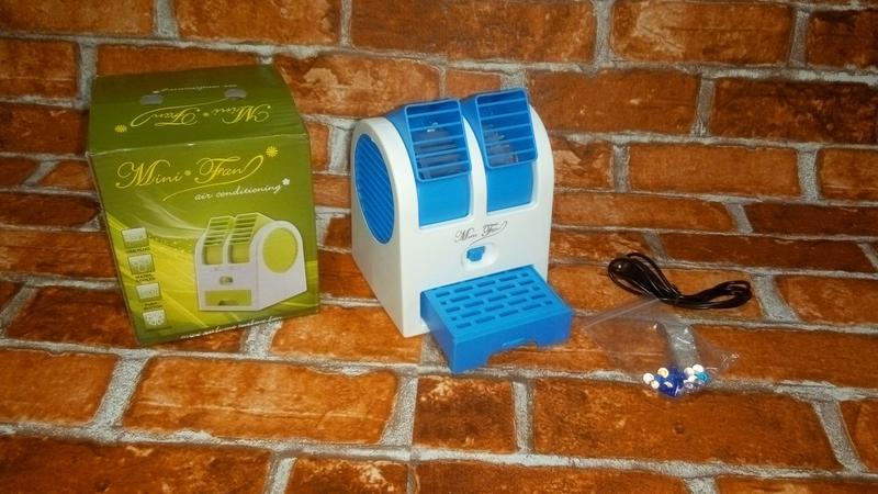 Мини-Кондиционер Вентилятор Охладитель Воздуха  Mini Fan UKC HB-1 - Фото 4