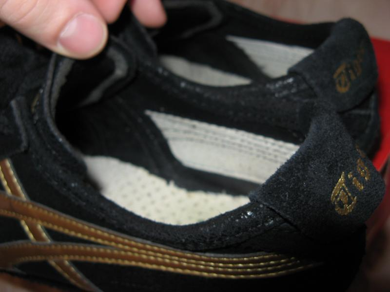 Кроссовки кеды из натуральной кожи asics onitsuka tiger оригинал - Фото 3