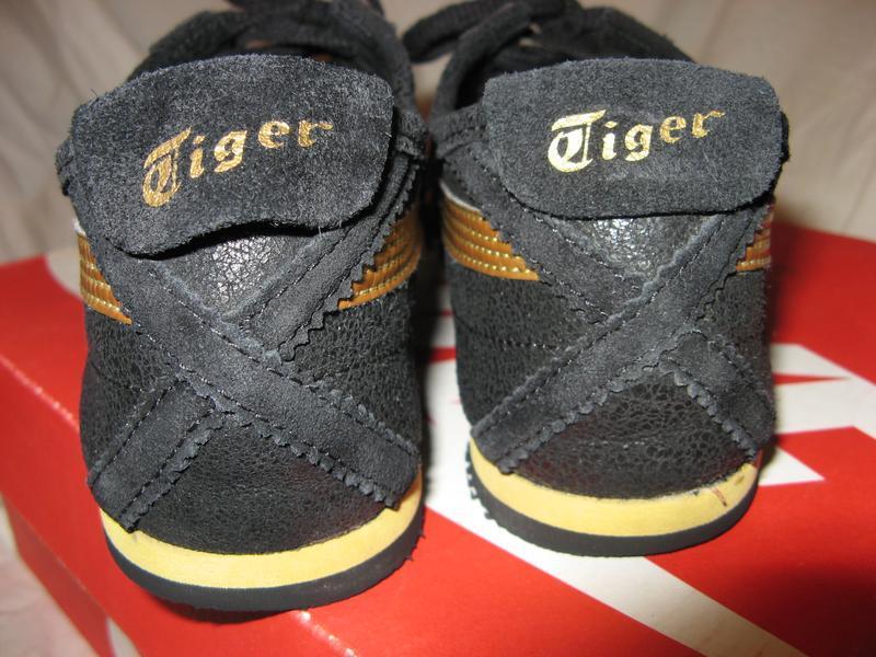 Кроссовки кеды из натуральной кожи asics onitsuka tiger оригинал - Фото 9