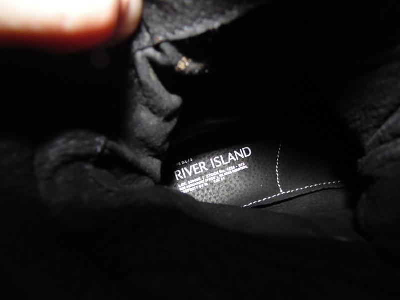 Ботинки замша берцы river island оригинал новые - Фото 2