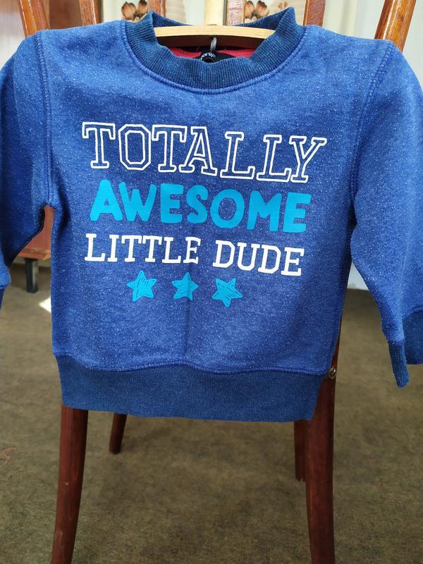 Теплая кофточка на флисе,свитшот,свитер на возраст 12-18 месяц... - Фото 2
