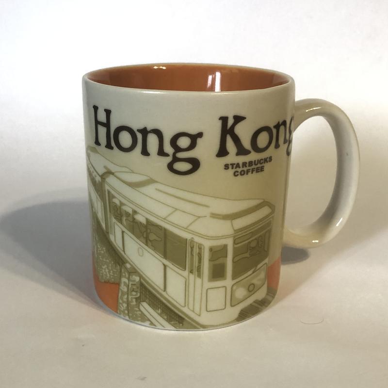 Коллекционная чашка starbucks coffee с городом !