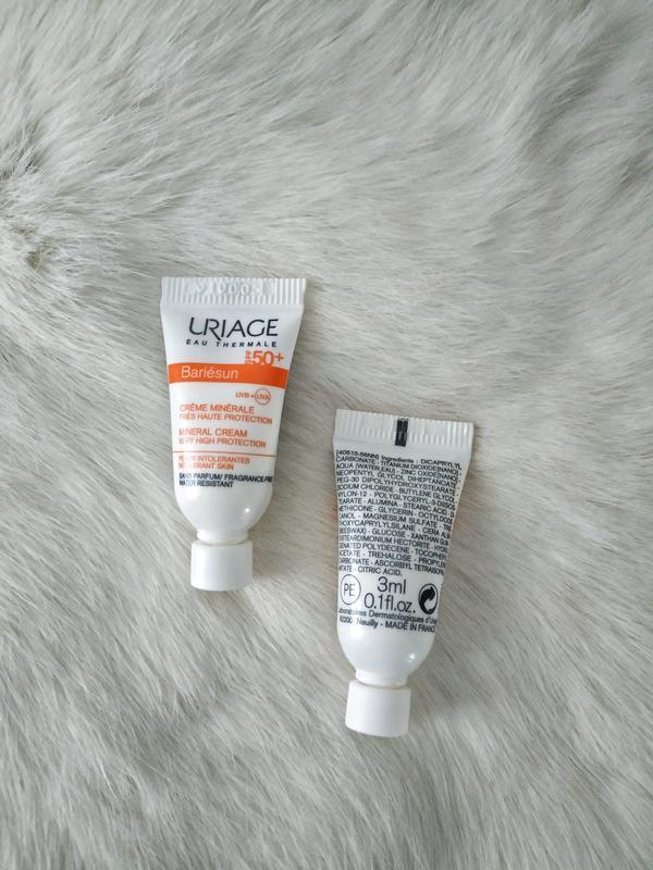 Uriage bariesun mineral cream крем 3 мл