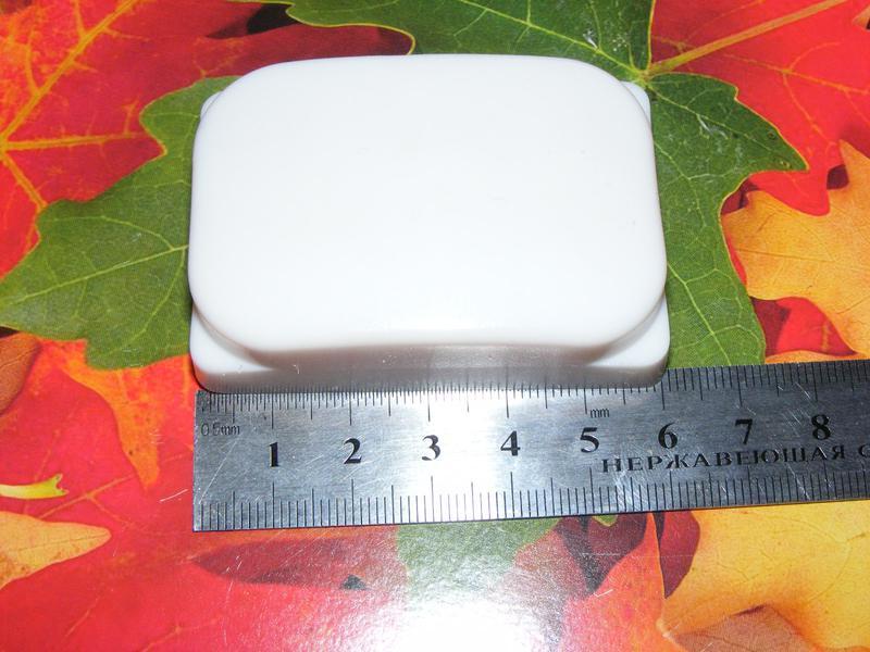 Большой силиконовый штамп для стемпинга печатка для маникюра - Фото 2