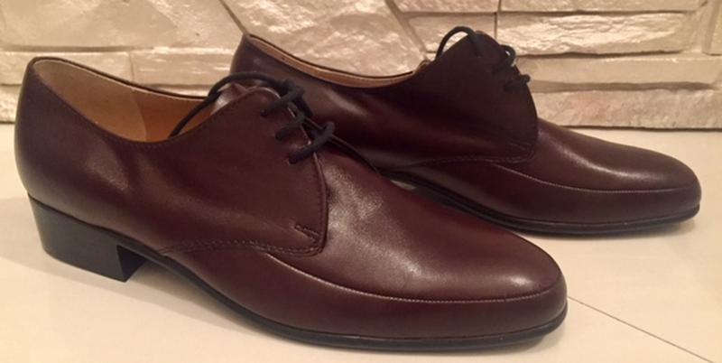 Туфли кожаные австрийского бренда   gallus