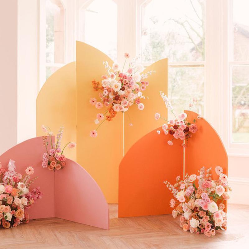 Ширма для фотозони фото фон декор весільна свадебная арка дерево