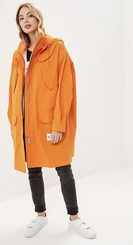 Парка куртка плащ calvin klein jeans оригинал трендовый цвет - Фото 2