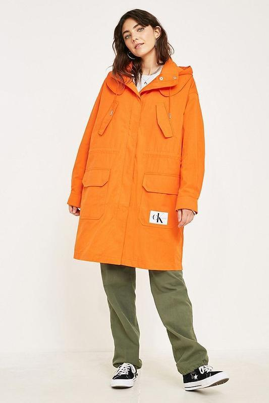 Парка куртка плащ calvin klein jeans оригинал трендовый цвет - Фото 3