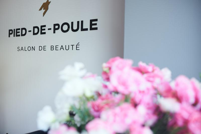 Стрижки и укладки в салоне красоты PIED-DE-POULE