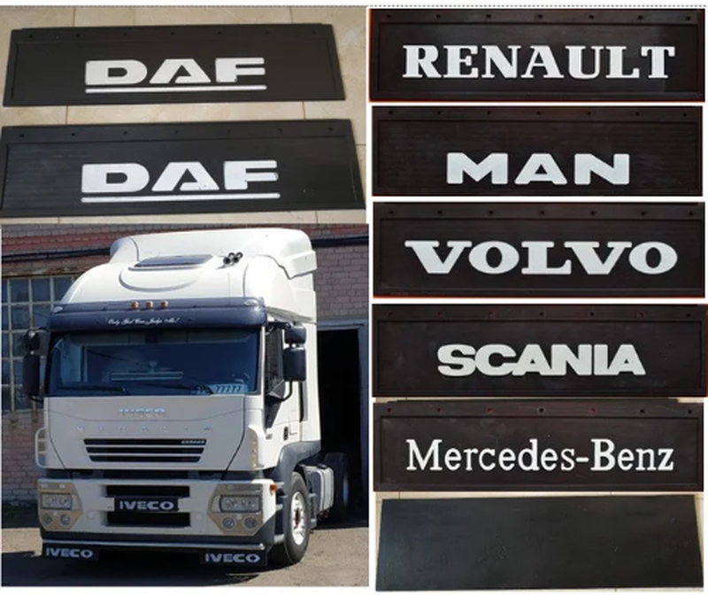 Брызговики передние DAF Iveco MAN Renault Scania Volvo MB 650*220