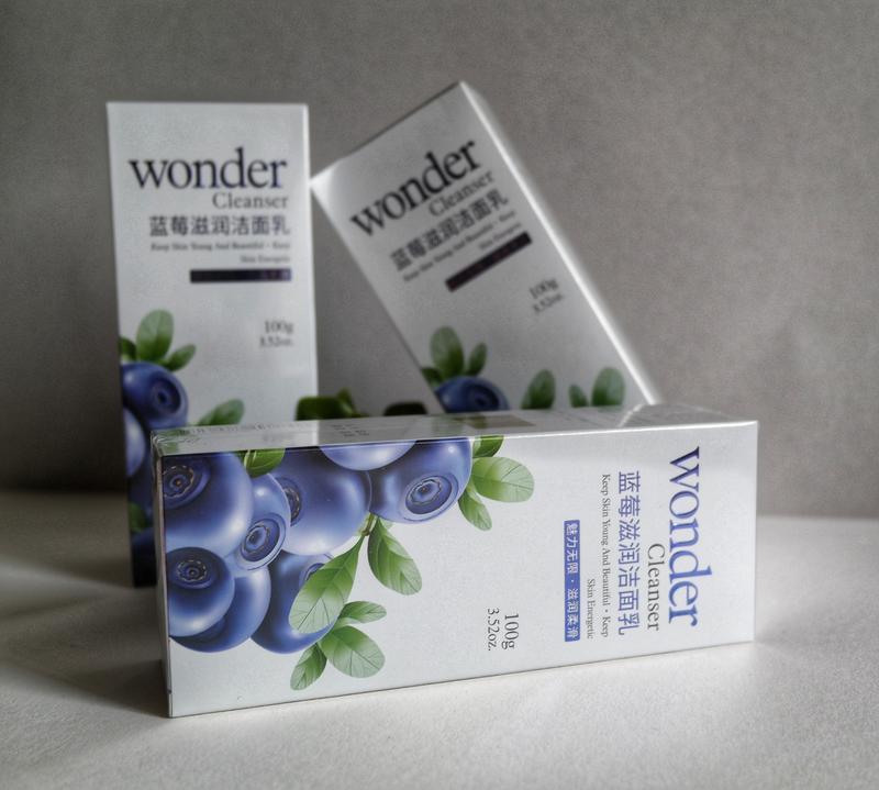 Пенка для умывания с черникой bioaqua wonder cleanser
