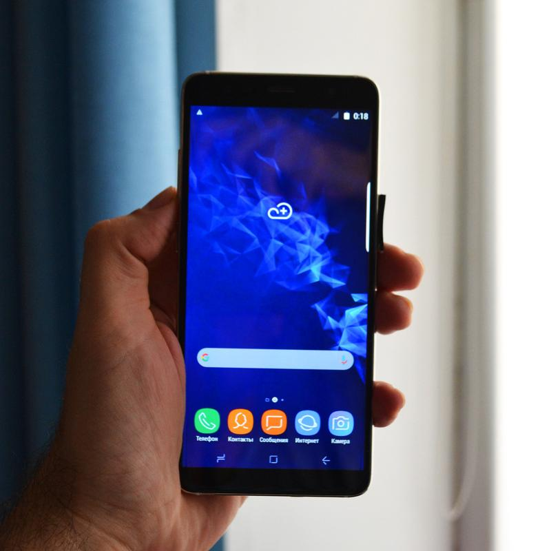 "Смартфон Samsung Galaxy S9 Plus 4G - 5,8"" - IPS - 4 Ядра -Идеал !"