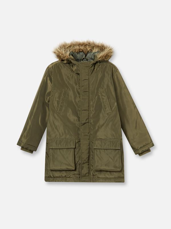 Стильная демисезонная куртка парка мальчику