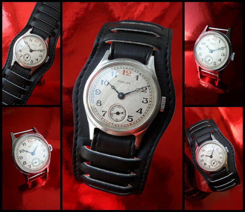часы МУЖСКИЕ «ПОБЕДА_2602», МЕХАНИКА, сделано в СССР 54 г.