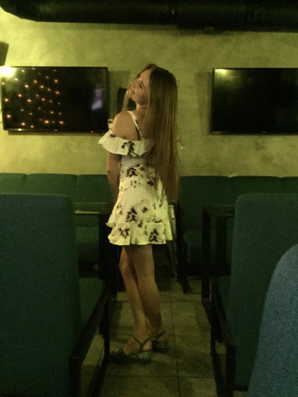 Милейшее цветочное платье с оборками - Фото 5