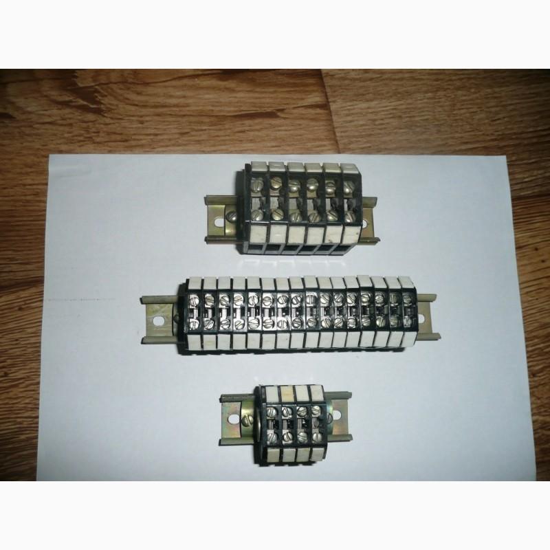 Зажимы наборные ЗН18 (клеммные колодки). на 25а и 40а