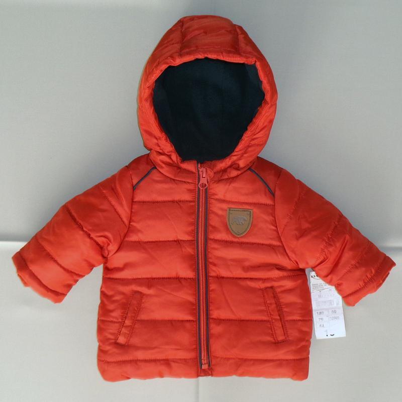 KIABI куртка демисезонная курточка на малыша 3 м./56-62
