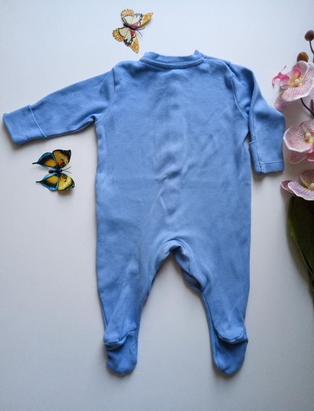 Пижамка человечек хлопок бавовна primark - Фото 2