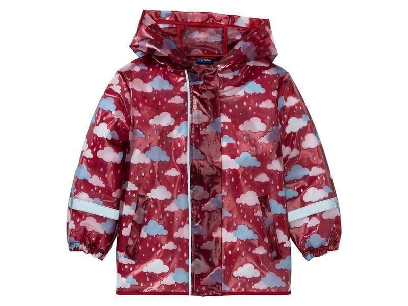 Набор дождевик куртка + штаны грязепруфы  lupilu 98-104 - Фото 4