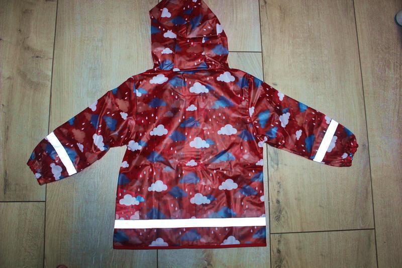 Набор дождевик куртка + штаны грязепруфы  lupilu 98-104 - Фото 8