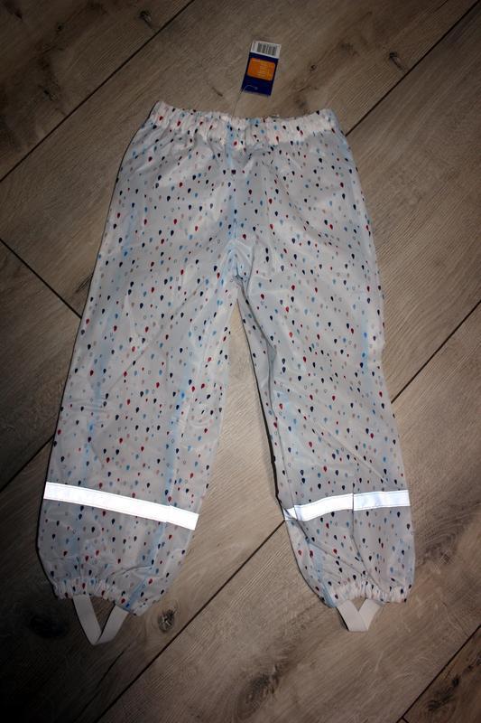 Набор дождевик куртка + штаны грязепруфы  lupilu 98-104 - Фото 10
