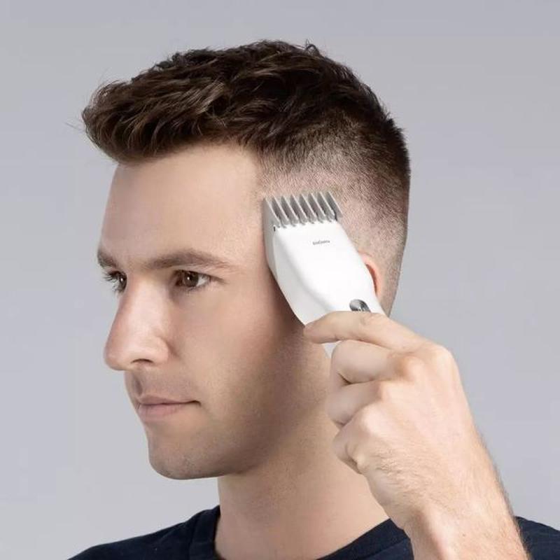 Машинка для стрижки волос Xiaomi ENCHEN Boost White - Фото 2