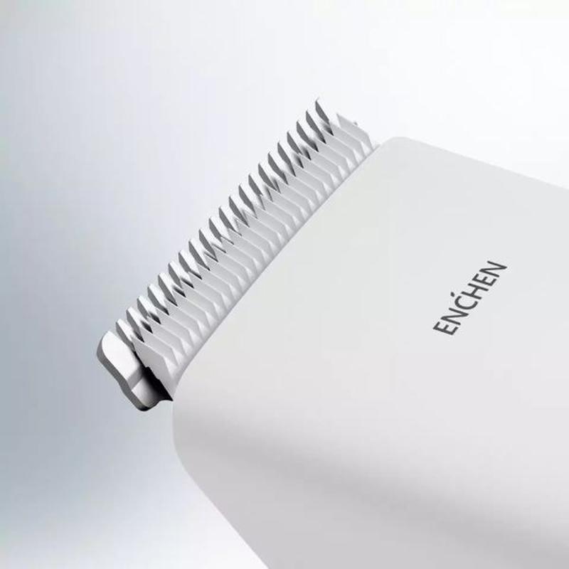 Машинка для стрижки волос Xiaomi ENCHEN Boost White - Фото 4