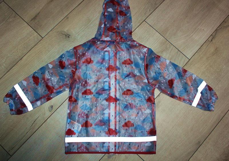 Набор дождевик куртка штаны грязепруфы lupilu 122-128 - Фото 9