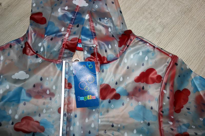 Набор дождевик куртка штаны грязепруфы lupilu 110-116 - Фото 8