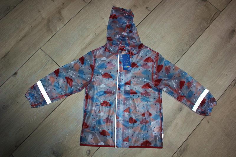 Набор дождевик куртка штаны грязепруфы lupilu 110-116 - Фото 9