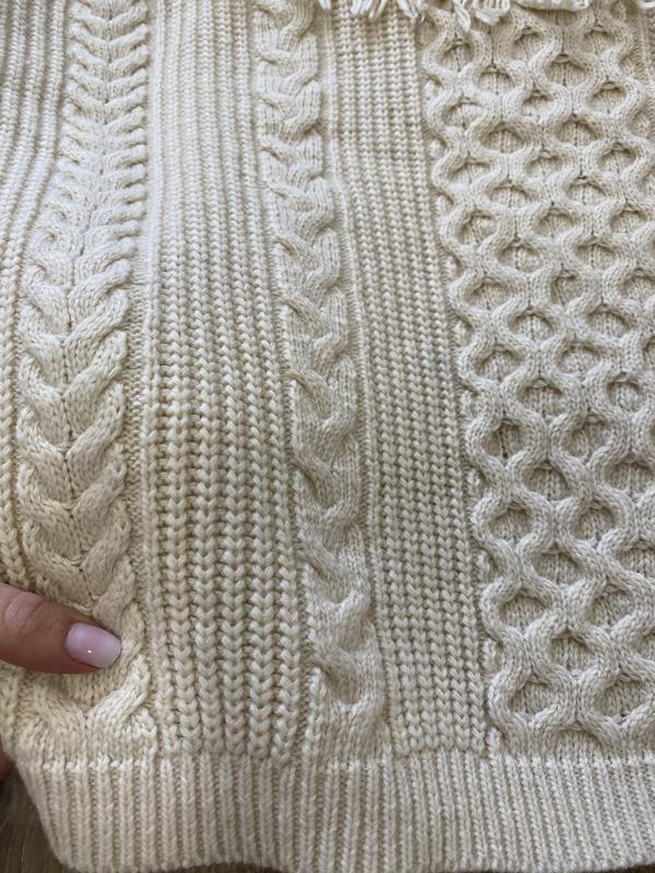 Очень тёплый бежевый свитер no name - Фото 5