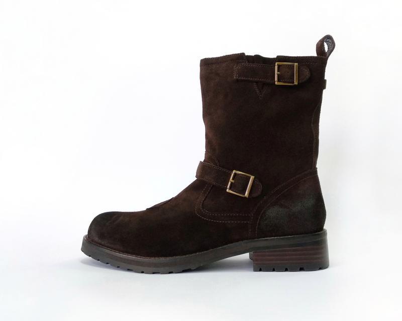 "Замшевые ботинки belstaff ""oil resistant"""