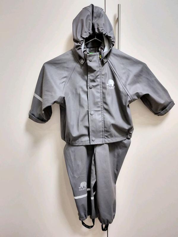 Дождевик. Куртка Штаны (Дания) от дождя Комбинезон Грязепруф р.80