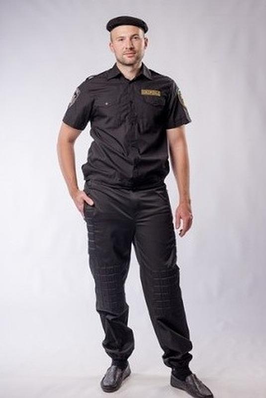 Новые мужские черные брюки / Форма охранника летняя