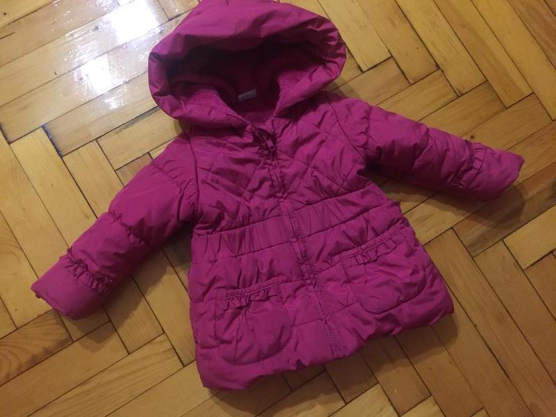 Курточка куртка детская  для девочки 1-2 года miniclub