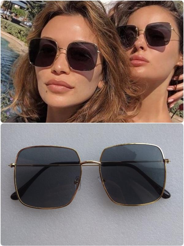 Новые модные очки квадратные очки