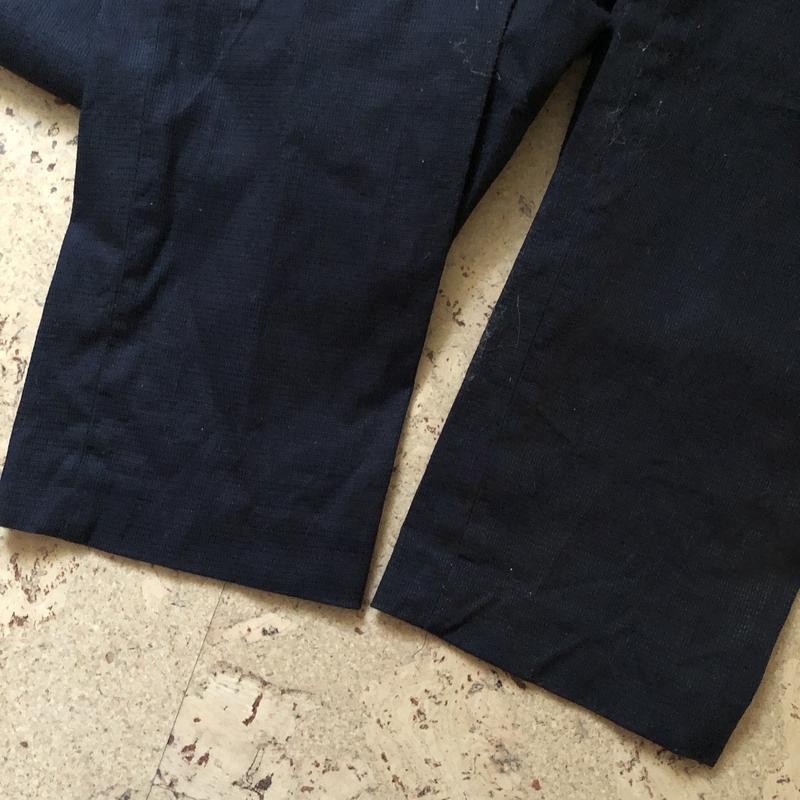 Брюки тёмно-синие мужские - Фото 5