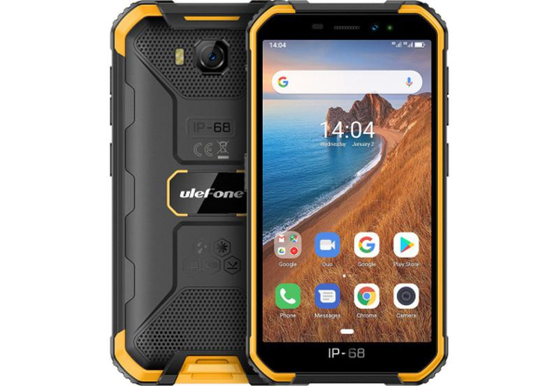 Смартфон Ulefone Armor X6 2/16Gb Black-Orange