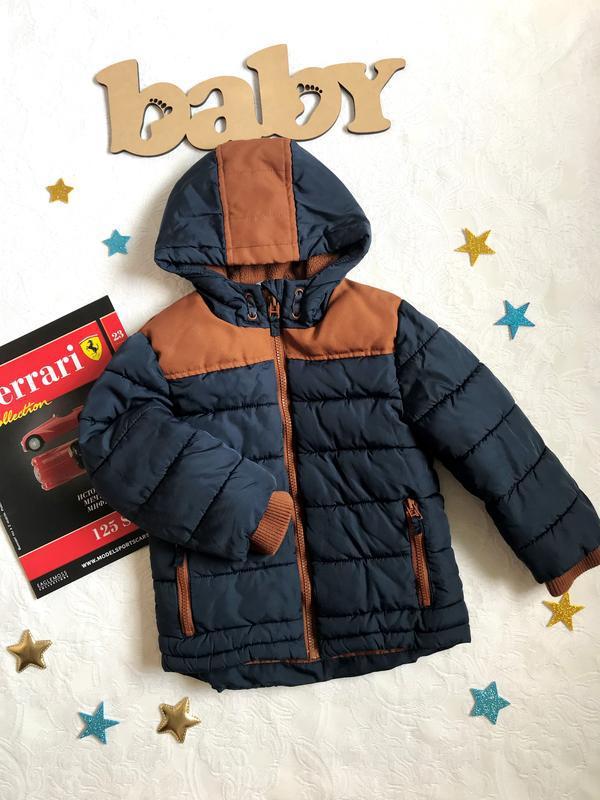 Стильная демисезонная куртка с капюшоном george