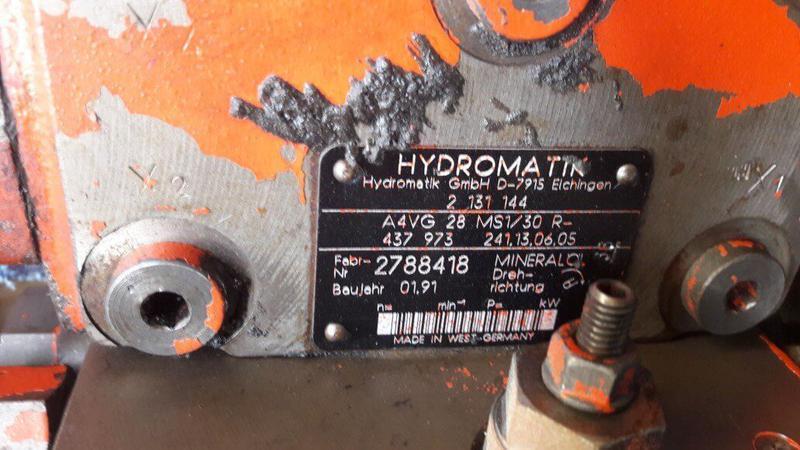 Ремонт гидромоторов HYDROMATIK