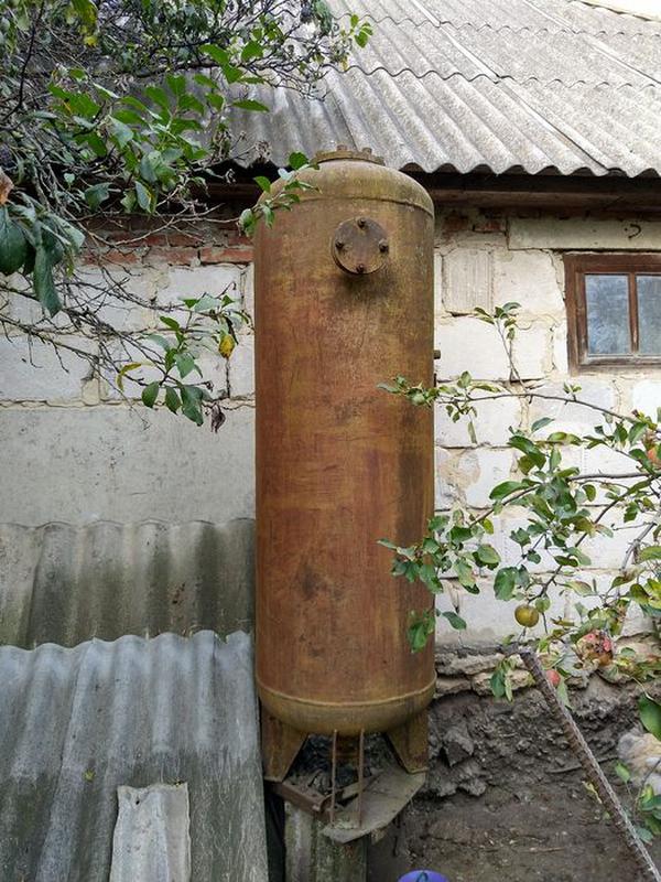 Ресивер, бочка високого тиску / давления, 500 л, висота 1,65 м