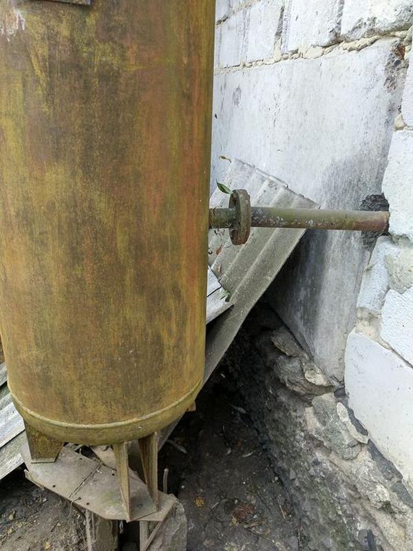 Ресивер, бочка високого тиску / давления, 500 л, висота 1,65 м - Фото 2